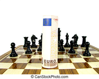 The Euro currency against all encuntra in the global market