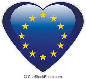 The European Union flag button.