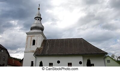The Evangelical church in Markuska, - The Evangelical church...