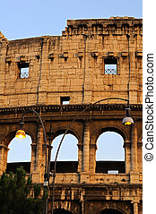 the evening at Colosseum