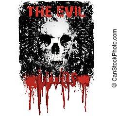 the evil lives inside