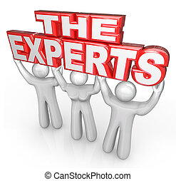 The Experts Professional People Help Solve Problem - The ...