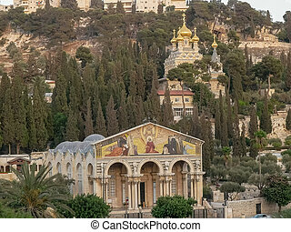 churches of mary magdalene and all nations in jerusalem