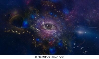 The eye of mystery in eternal space