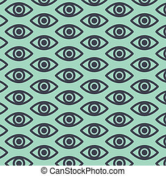 The eye patterns background
