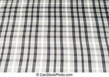 The fabric in the Scottish style. Warm plaid