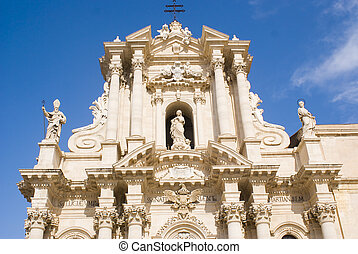 Cathedral of Siracusa, Sicily