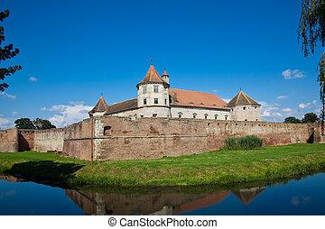 Fagaras Fortress - The Fagaras Fortress in Brasov County,...
