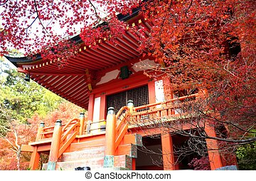 The fall season of Japan
