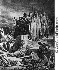 The famine in Samaria