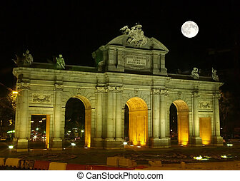The famous Alcala Arch