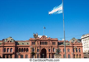 The famous Casa Rosada