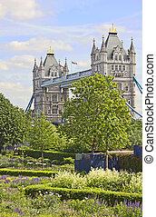 The famous Tower Bridge, London, UK