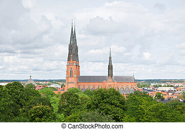 The famous Uppsala cathedral
