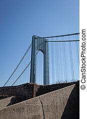 Verrazano-Narrows Bridge - The famous Verrazano-Narrows ...