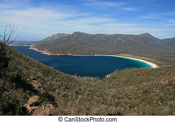 Wineglass Bay - The famous Wineglass Bay from Mt Amos...