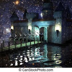 The fantastic castle