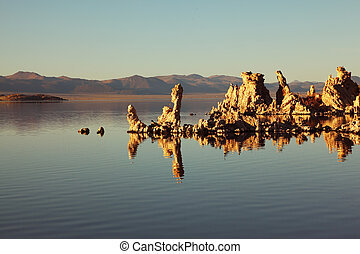 The fantastic reef-Tufa - Fabulously beautiful Mono Lake...