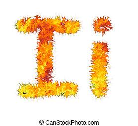 fiery letter