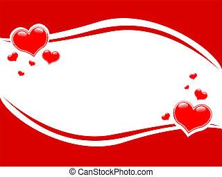 festive photo frame Valentine Valen