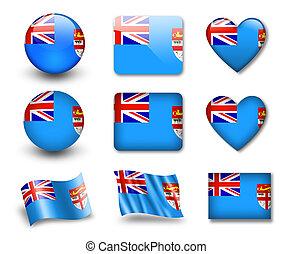 The Fiji flag