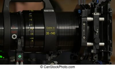 The Film Set Camera Lens - Anamorphic film zoom lens 35-140...