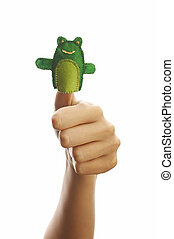 The finger puppet