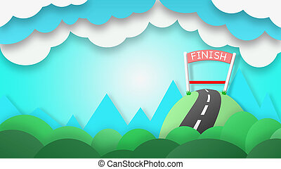 The finish line of success