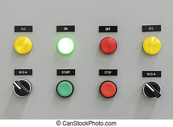 The fire control panel