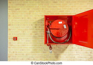 The fire hose