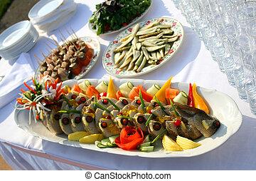 Fish on the dish
