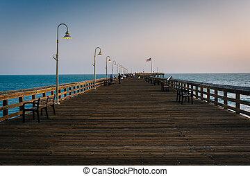 The fishing pier in Ventura, California.