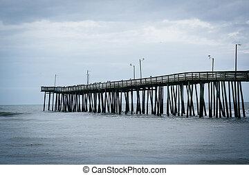The Fishing Pier in Virginia Beach, Virginia.