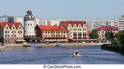 The Fishing Village of Kaliningrad, Russia