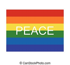 The flag of peace