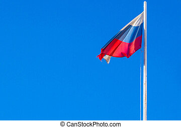 The Flag Of The Russian Federation