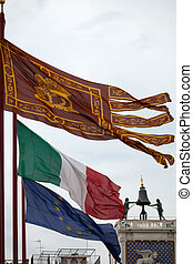 the flag of venice