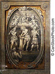 The flagellation of the Christ