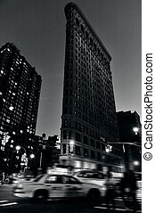 The Flatiron building in Manhattan New York - NEW YORK CITY...