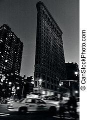 The Flatiron building in Manhattan New York