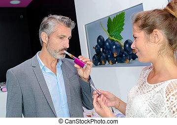 the flavor of the vapor