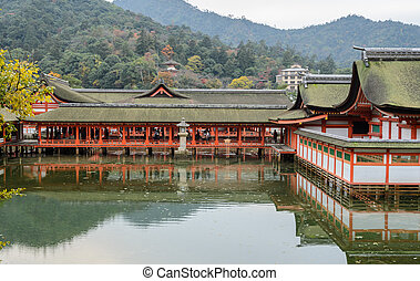 The Floating Shrine on the Sea, Japan