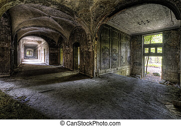 the floor - In the old hospital complex for lung diseases in...