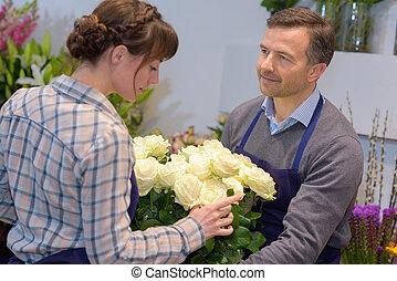 the flower order
