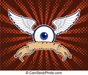 The Flying Eye Banner