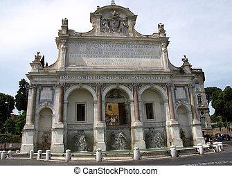 """The Fontana dell'Acqua Paola also known as Il Fontanone (""""..."""