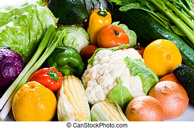 the food group of fruit and vegetables