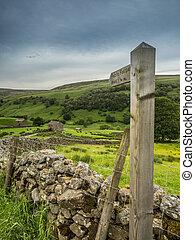 The footpath to Keld