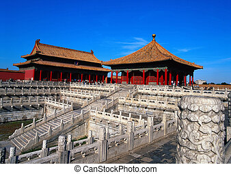 The forbidden City - The forbidden city in Beijing, China