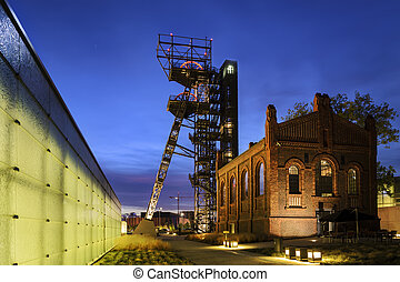 """The former coal mine """"Katowice"""", seat of the Silesian Museum."""